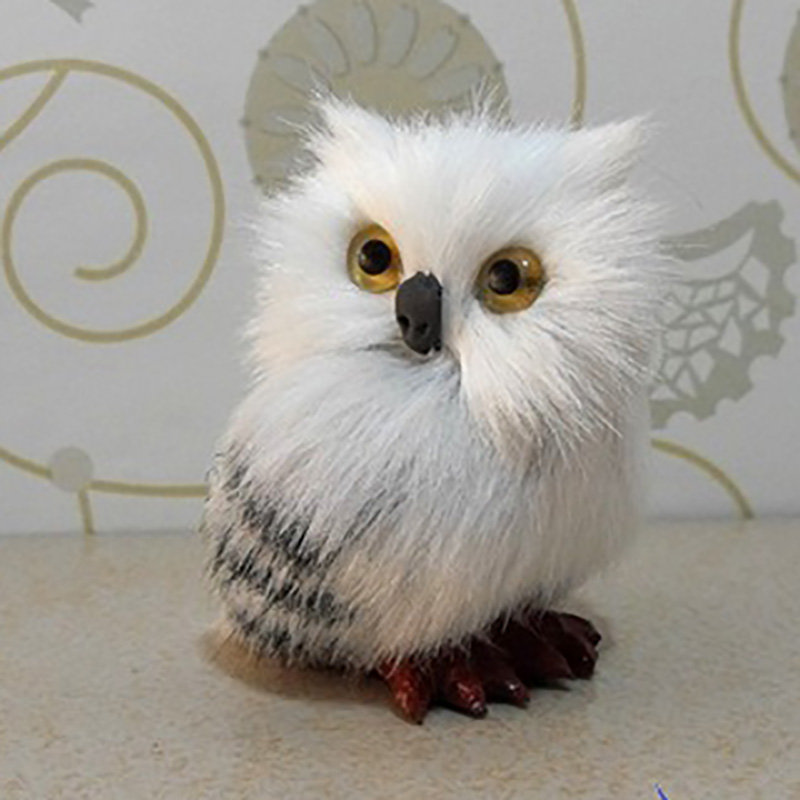 Cute Owl Plush Stuffed Doll Props Ornaments Hanging Pendant Gifts Collectible Boys Girls Plush Toy Gifts
