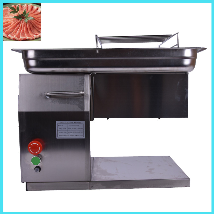 110V220V in stock commercial use QH meat slicer  machine meat cutting machine meat cutter 250KG per hour with durable blades free shipping qe qh qsj a model meat cutter blades meat cutting blades