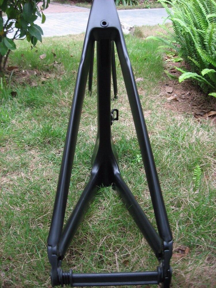 Новое поступление!! Aero Carbon TT рама для дорожного велосипеда матовая черная