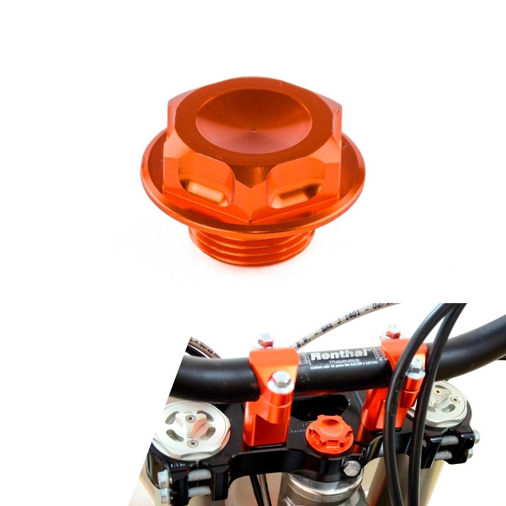 NICECNC Steering Stem Bolts For KTM 125 150 200 250 300 350 400 450 500 525 530 SX SXF EXC EXCF EXCR XC XCW XCF SX-F EXC-F XC-F billet axle blocks chain adjuster for ktm 125 150 200 250 300 350 400 450 500 505 525 530 exc exc f xc w xcw xcf w 2000 2015