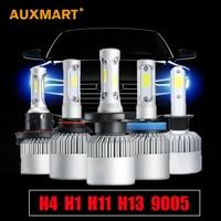 All In One COB H4 Hi Low Beam 360 Degree Car LED Headlight Bulb 12V 24V
