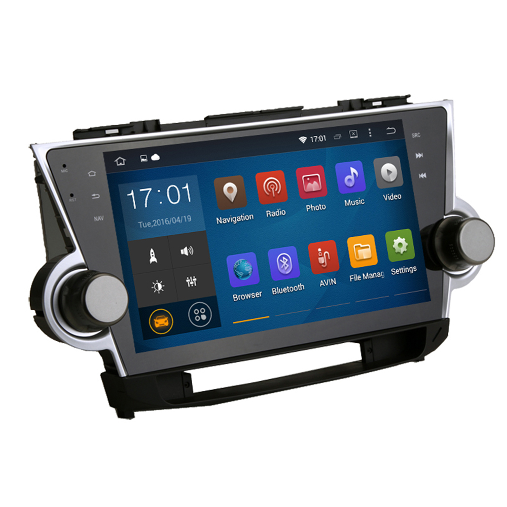 2012 Toyota Highlander Limited: Stereo Head Unit Android 5.1 For Toyota Highlander 2009