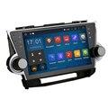 Stereo Head Unit Android 5.1 for Toyota Highlander 2009 - 2012 Permanent radio navi GPS Radio headunit wifi free map Head Device