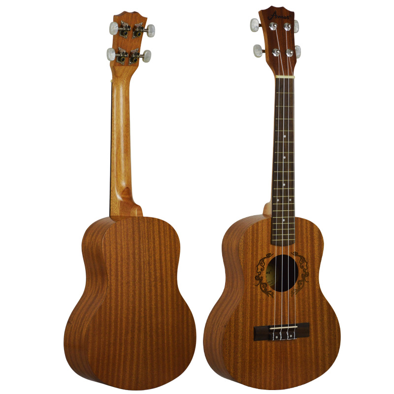 ukulele 26 inch four string small guitar hawaii travel little guitar mahogany child guitar in. Black Bedroom Furniture Sets. Home Design Ideas