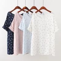 Plus Size 4XL Casual Print Women T Shirt 2017 Fashion Summer T Shirt Short Sleeve O
