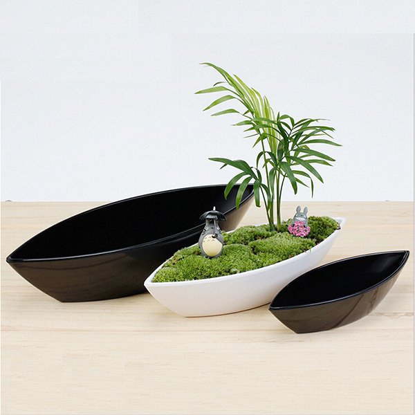 Free shipping 2pcs/lot!! home design plastic pots for plants small ...