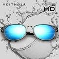 Унисекс, ретро стиль, сплав магния и алюминия, солнцезащитные очки с поляризованными линзами, винтажные солнцезащитные очки, 6680