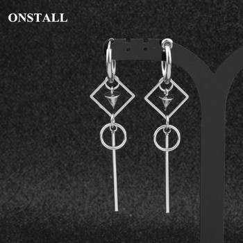ONSTALL 19 Korean Fashion Pop Jewelry male Bangtan men earring Silver Drop Earring For Women Vintage.jpg 350x350 - ONSTALL 19 Korean Fashion Pop Jewelry male Bangtan men earring Silver Drop Earring For Women Vintage Long Men Earring Geometric