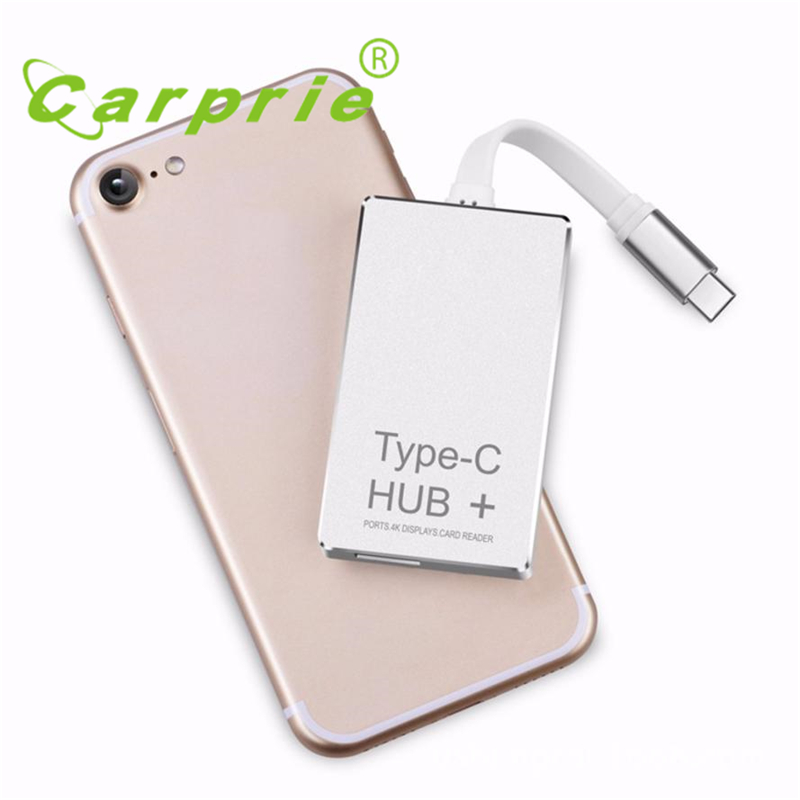 6-in-1 USB-C Hub Type-C Charging Power Delivery HDMI 4K SD/TF Card Reader Wholesale Price Hot Drop_KXL0526 668 usb 3 1 type c card reader