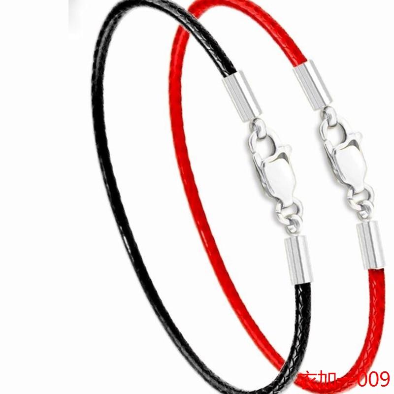 Μόδα κλασικό σχοινί σχοινί μαύρο - Κοσμήματα μόδας - Φωτογραφία 3