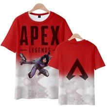 Frdun Tommy New Game 3D Boutique Apex Legends Summer T-shirt Men/Women Hot Games Soft Harajuku Tops