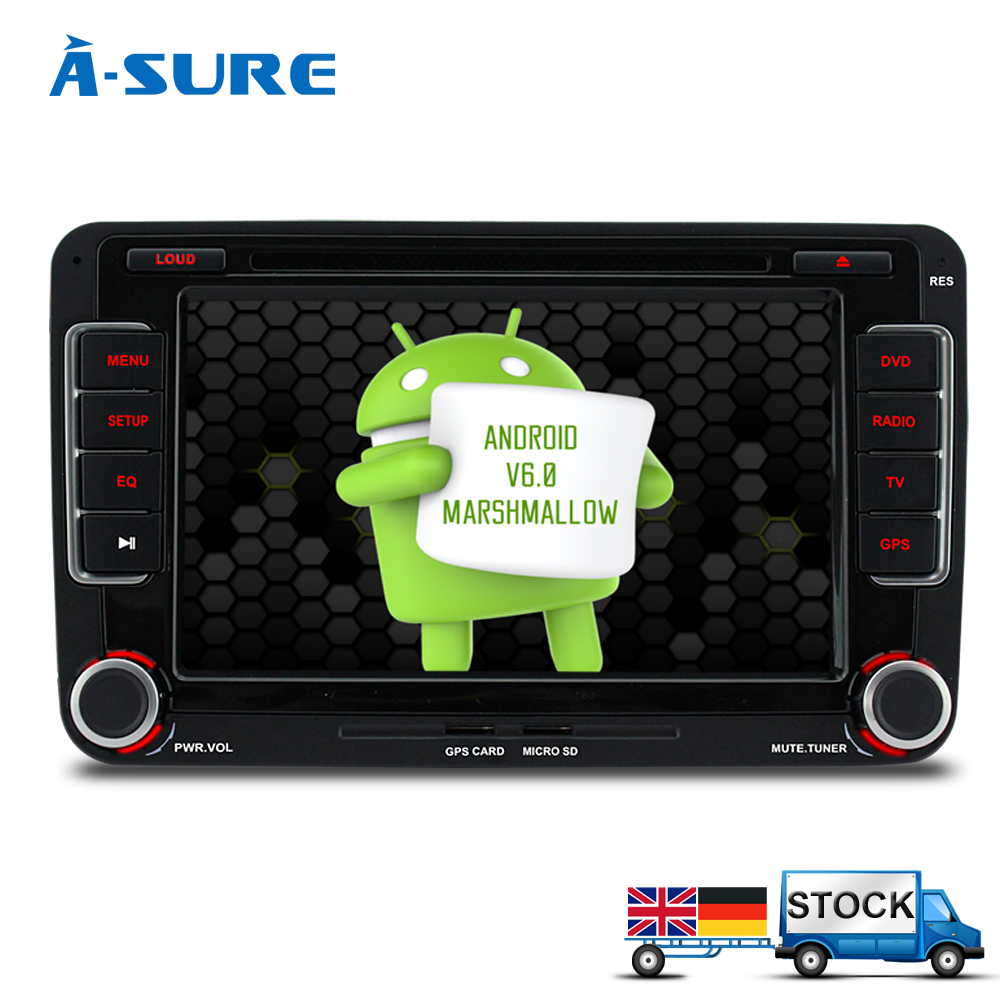 a sure 7 39 39 2 din octacore android 6 0 3g car dvd radio gps. Black Bedroom Furniture Sets. Home Design Ideas