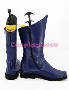 Image 2 - Zapatos de Cosplay de Batman de la película americana, Botas Largas, para Halloween
