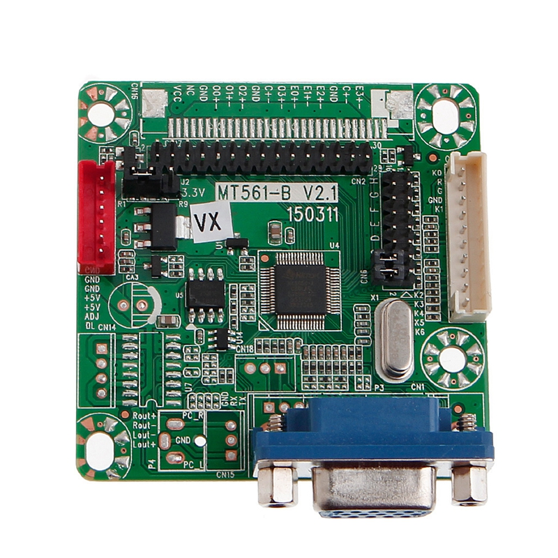New 2017 for MT6820 GOLD-A7 Driver Controller Board For 8-42 Inch Universal LVDS LCD Monitor  Hot Sale diy gpio expansion board accessory for raspberry pi b red