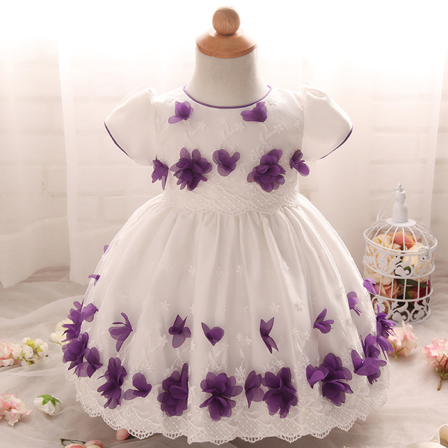 b9332db236d0 Infant Princess Dress High-grade Baby Flower Girl Dresses for Weddings  Children s Clothing 1 Year