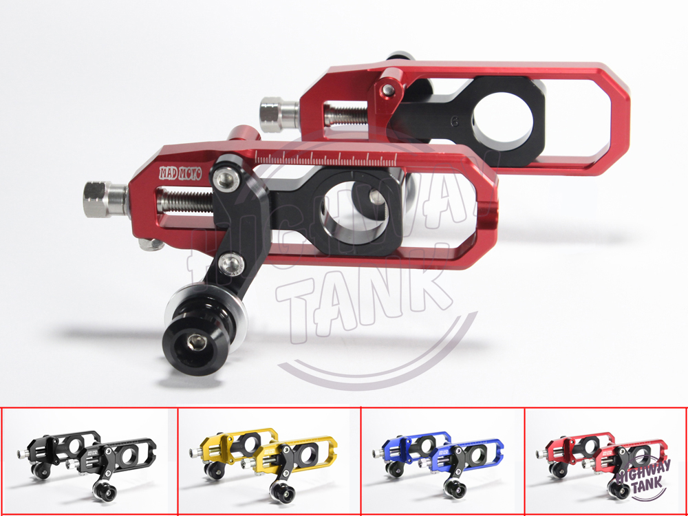 Free Shipping Motorcycle chain adjuster CNC aluminum case for HONDA CBR600RR 2007-2012 08 09 10 11 F5 aftermarket free shipping motorcycle parts eliminator tidy tail for 2006 2007 2008 fz6 fazer 2007 2008b lack