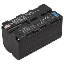 Высокая емкость 5200 мАч NP F750 NP F770 Замена Цифровая камера Batteria для Sony NP-F750 NP-F770 аккумуляторная батарея