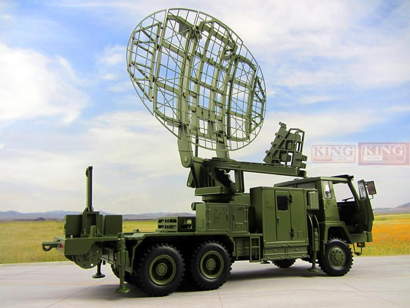Steyr modified Meterwave radar vehicle model JY-27 radar vehicle Steyr truck model 1/30 for Chinese Army PLA