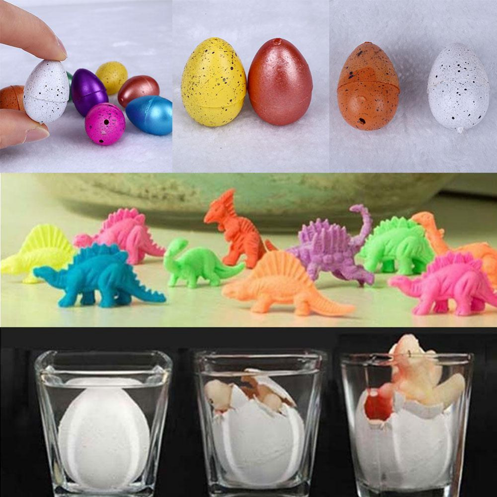 5 pieces Hatching Growing Dinosaur Add Water Grow Dino Egg Cute Children Kid Toys