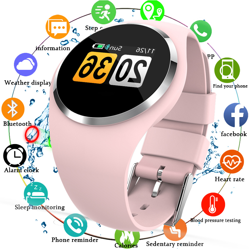 Bracelet Smart Watch Women Heart Rate Monitor Blood Pressure Bluetooth Running Pedometer Touch Intelligent Sport Watch For Women