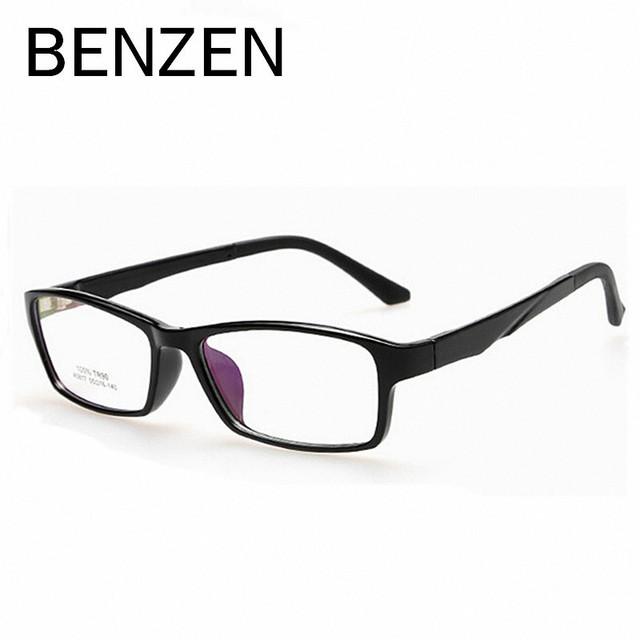 BENCENO TR 90 gafas de La Miopía Gafas de Lectura Marcos Eyewear Frame Hombres Mujeres Gafas Marco Óptico Eyewear Con El Caso 5010