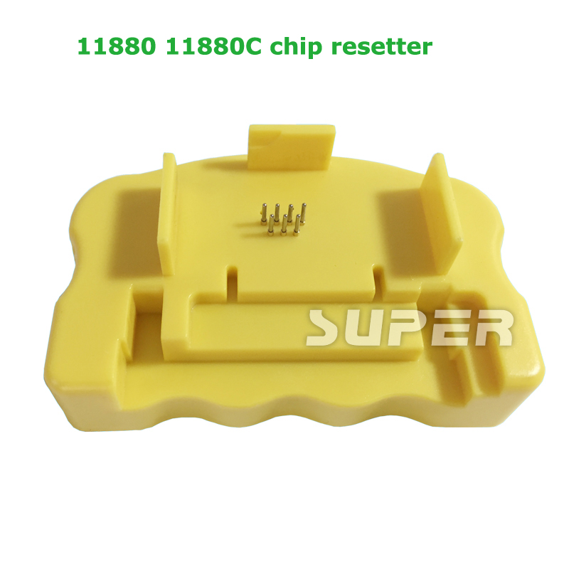 Cartridge Chip Resetter For Epson 11880 11880C Printer Chip Resetter cs dx18 universal chip resetter for samsung for xerox for sharp toner cartridge chip and drum chip no software limitation