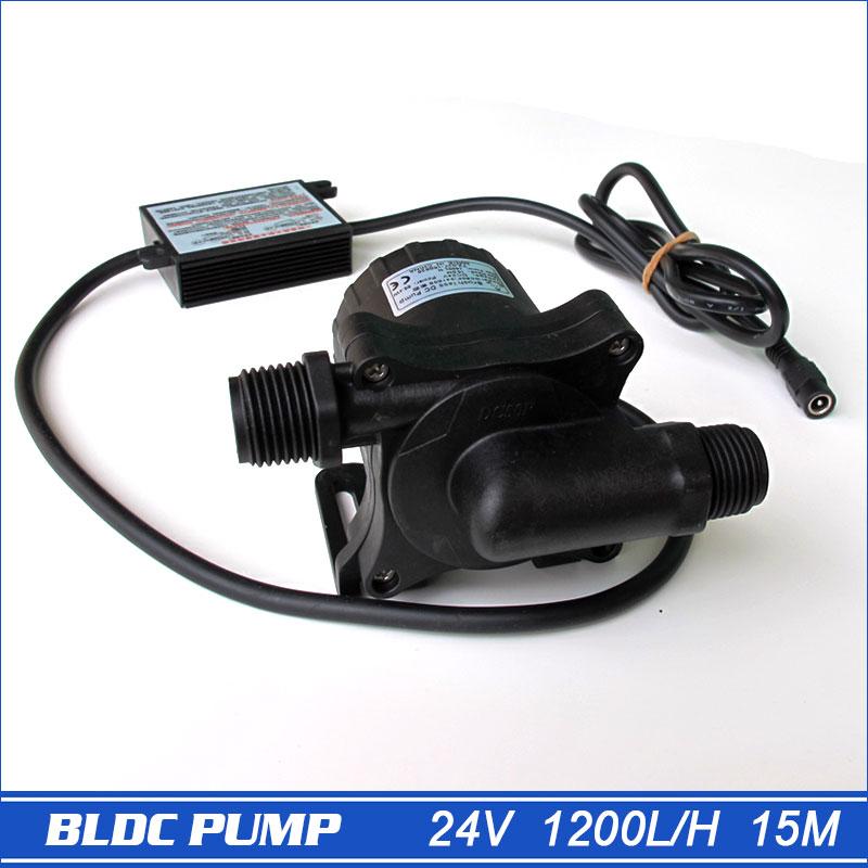 Bomba de água quente 50F-24150S, 1 peça 1200LPH 15M 100 graus, submersível, para aquecedor de água solar, piscina solar