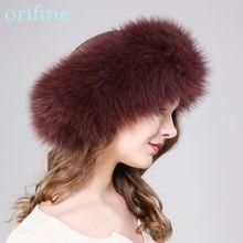 New lady natural fox fur headband fashion fur neckwarmer small luxury parka  real fur accessory( 3a60f9b4770