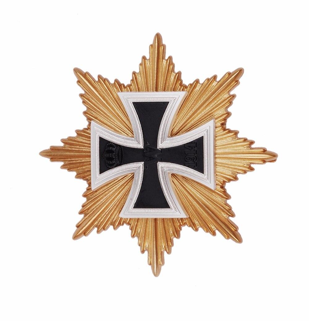 WW1 WWI impérial ROYAL allemand prussien HINDENBURG étoile grands chevaliers croix de fer