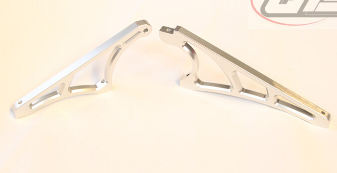 CNC metal front and rear diff case gear box bracket brace support for LOSI 5IVE T