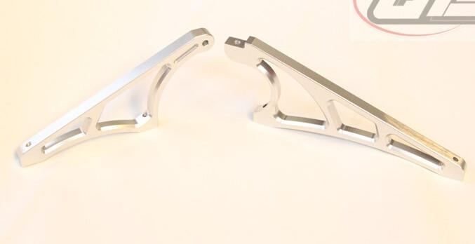 CNC metalen voor en achter diff case versnellingsbak beugel brace ondersteuning voor LOSI 5IVE T LT-in Onderdelen & accessoires van Speelgoed & Hobbies op  Groep 1