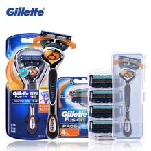 Gillette Fusion ProGlide tıraş bıçağı FlexBall marka tıraş makinesi yıkanabilir tıraş makinesi yedekler emniyet jilet