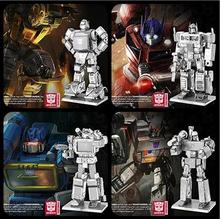 3D metal model laser cutting Nano Puzzles 4 Style 6 inch Etched plate robots series MEGATRON