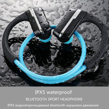 Hongsund Armor Bluetooth V4.1 Earphone IPX5 Waterproof Sports Headset Wireless Anti-sweat Ear-hook Running Headphone with Mic