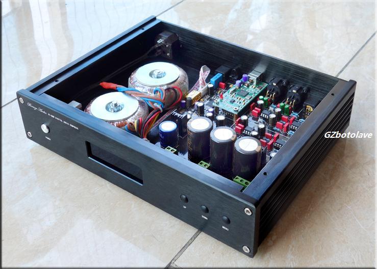 Weiliang Breeze Audio ES9028PRO USB DSD DAC XMOS Decoder W/ MUSES8920 x2 + AD797 x2 Digital Analog Converter With Remote nobsound dual ak4495 usb dac audio decoder dsd xmos xu208 digital to analog converter