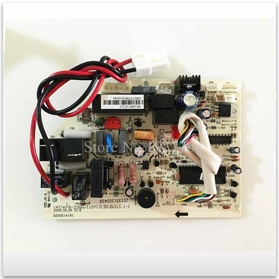 new Air conditioning computer board CE-KFR32GW/I1Y(S) KFR-32GW/I1DY(JL3) board good working wire universal board computer board six lines 0040400256 0040400257 used disassemble