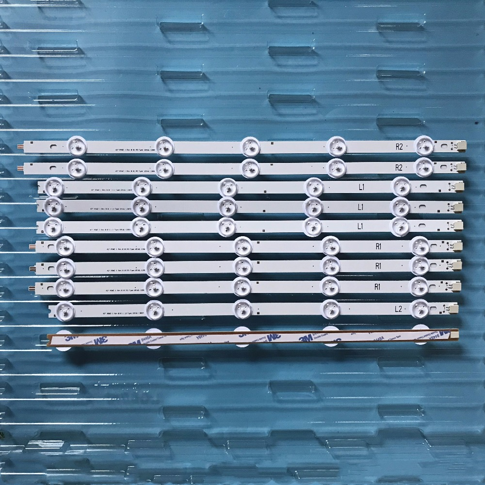 Image 2 - подсветка Backlight Array LED Strip Bar LG 42LN540V 42LN613V 42LA620V LC420DUE 42LN575S 42LA620S 42LN540S R2 6916L 1217A-in LED Bar Lights from Lights & Lighting