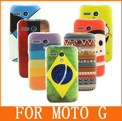 Phone Case for MOTO G case XT1031 XT1032 XT1033 XT1034 High Quality Cute Cartoon Colorful Patterned Phone Cases Cover Shell