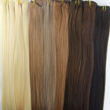 Straight Virgin Hair Bundle Deals Brazilian Hair Weave Extensions 100g/Bundle Tissage Bresilienne Hair 16″ 18″ 20″ 22″ 24″ 26″