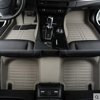 Хорошее качество! Пользовательские специальные коврики для Citroen DS5 2015 2011 легко чистятся водонепроницаемые ковры для DS5 2013, бесплатная достав