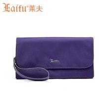 Laifu Marke Design Abendtasche Frauen Nylon Casual Kupplung Geldbörse Wasserdichte Europa Amerika Stil Brieftaschen Einkaufen 4 Farbe