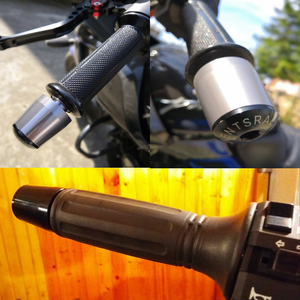 "Image 5 - New Motorcycle CNC Aluminum 7/8"" 22mm Handle Bar End Weights Handlebar Grips Cap For SUZUKI GS500 RG 125F RGV 250 VZ 800 VL 150"
