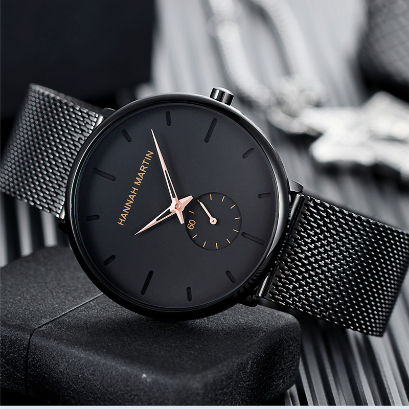 Ultra Thin Creative Black Stainless steel Quartz Watches Men Simple Fashion Business Japan Wristwatch Clock Male Relogios newUltra Thin Creative Black Stainless steel Quartz Watches Men Simple Fashion Business Japan Wristwatch Clock Male Relogios new