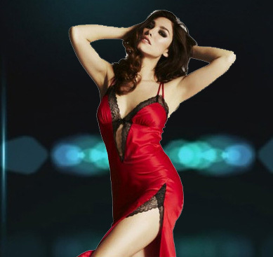 Sexy romantic dress