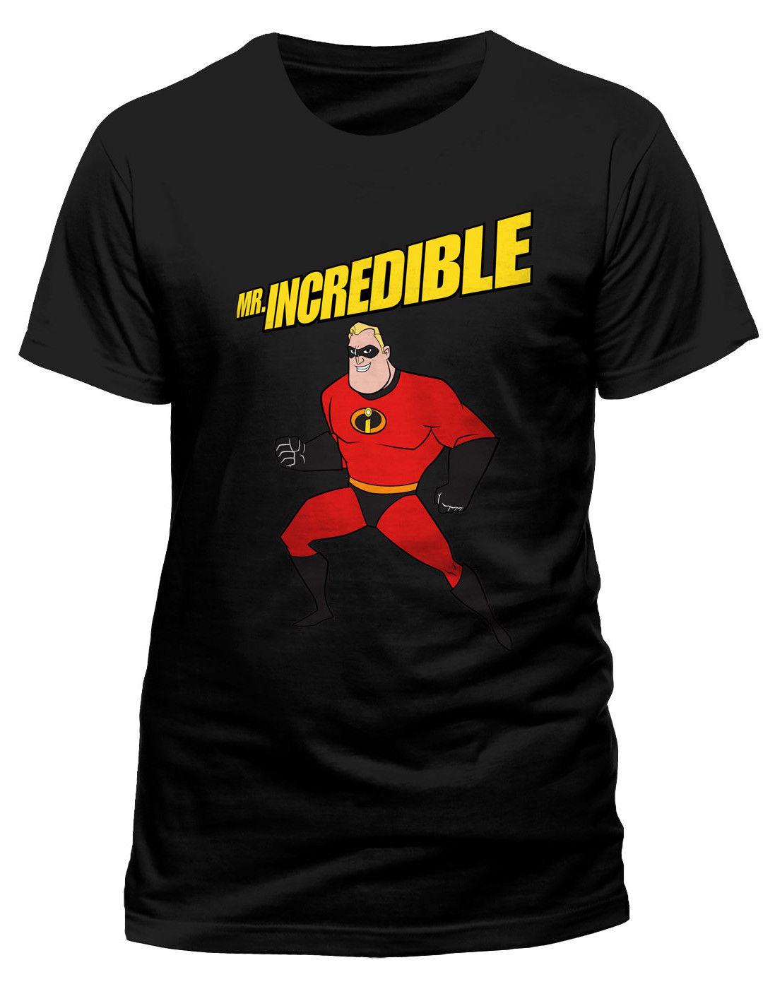 ผู้ชาย Incredibles 2 Potenza Posa 'T - เสื้อ - Nuovo e Originale