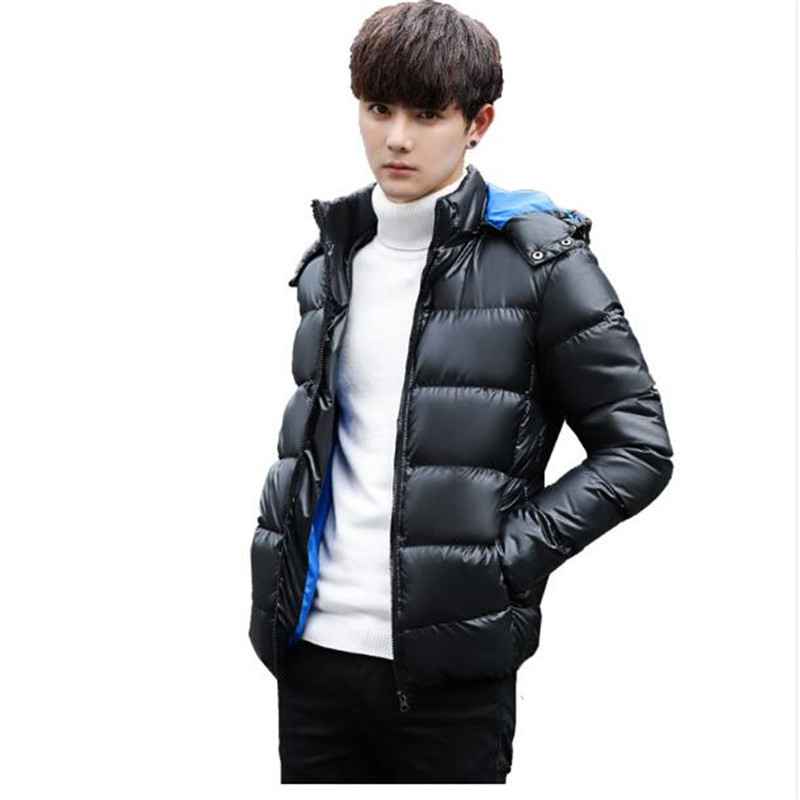 Camouflage 2018 New Brand Winter Warm Jacket for Men Hooded Coats Casual Mens Thick Male Slim Cotton Padded Fit Snow Cold