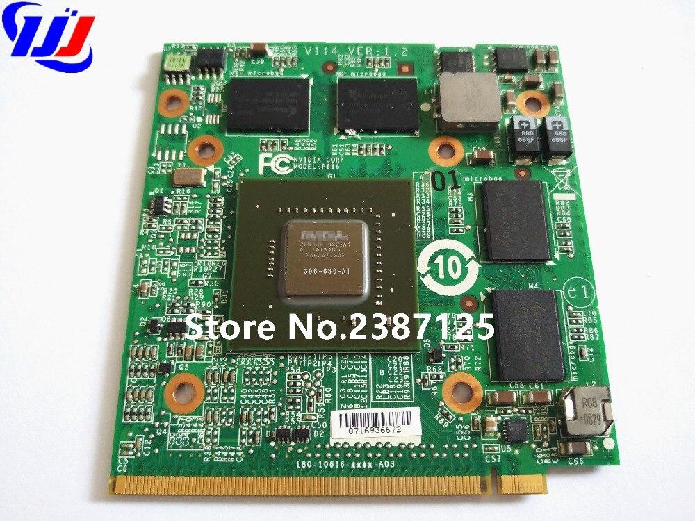 9600M GT 9600MGT VG.9PG06.002 Grafická grafická karta VDR DDR3 512M pro A c e r 6935G 8930G 5930G 6930G 4735ZG 4730G 4930G 9920G