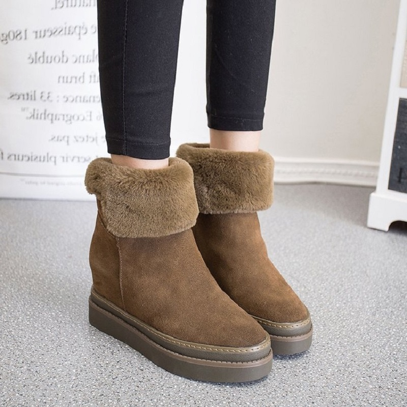 2018 new autumn and winter thick boots women plus cashmere warm cotton boots snow boots female new 2017 hats for women mix color cotton unisex men winter women fashion hip hop knitted warm hat female beanies cap6a03