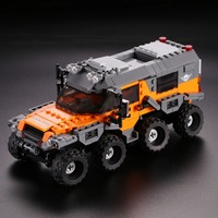 XINGBAO Technic Car Series Off road Adventure Building Blocks With Lepin Technic ABS Plastic Educational Toys For Children