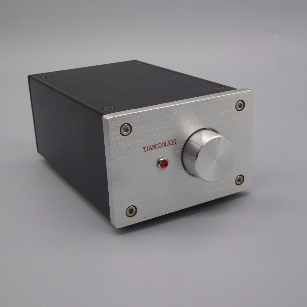 Zerozone Hifi 12au7 Tube Preamp Base On Musical Fidelity X 10d Line 60v Dual Variable Power Supply Circuit Using Lm317lm337 X10 D47 6j1 Amplifier And Audio Signal Buffer Preamplifier One Machine 47